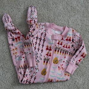 Hanna Andersson pajamas size 70(6-12m)